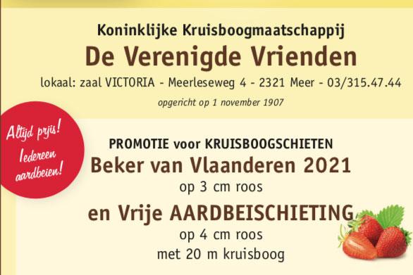 Beker van Vlaanderen - Meer
